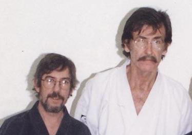 Sensei Murray with Shihan Ric Cameron