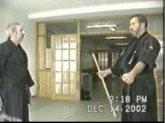 Senseis Murray and Mike Mason