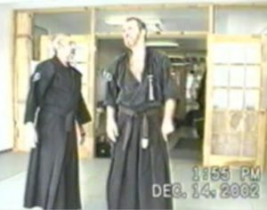 Mike Mason black belt grading